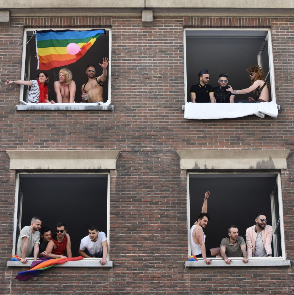 traveling while LGBT, pride