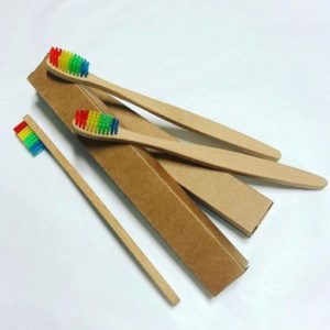 zero waste bamboo toothbrush for eco-conscious traveler