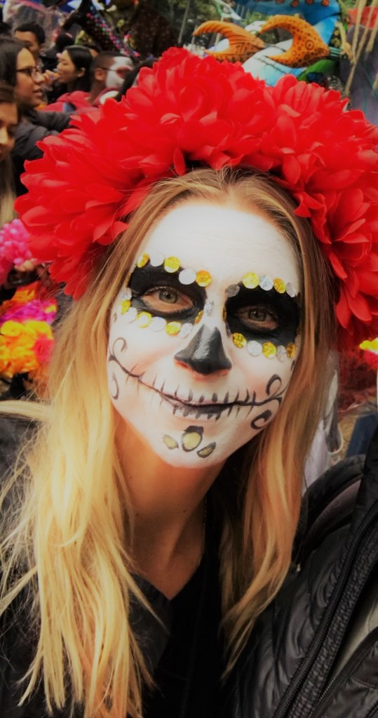 Dia de muertos, dia de los muertos, day of the dead, Mexico City, things to do in Mexico City, Toni Wheel, Antoinette Weil, where to celebrate day of the dead, Mexico City travel, visiting Mexico City