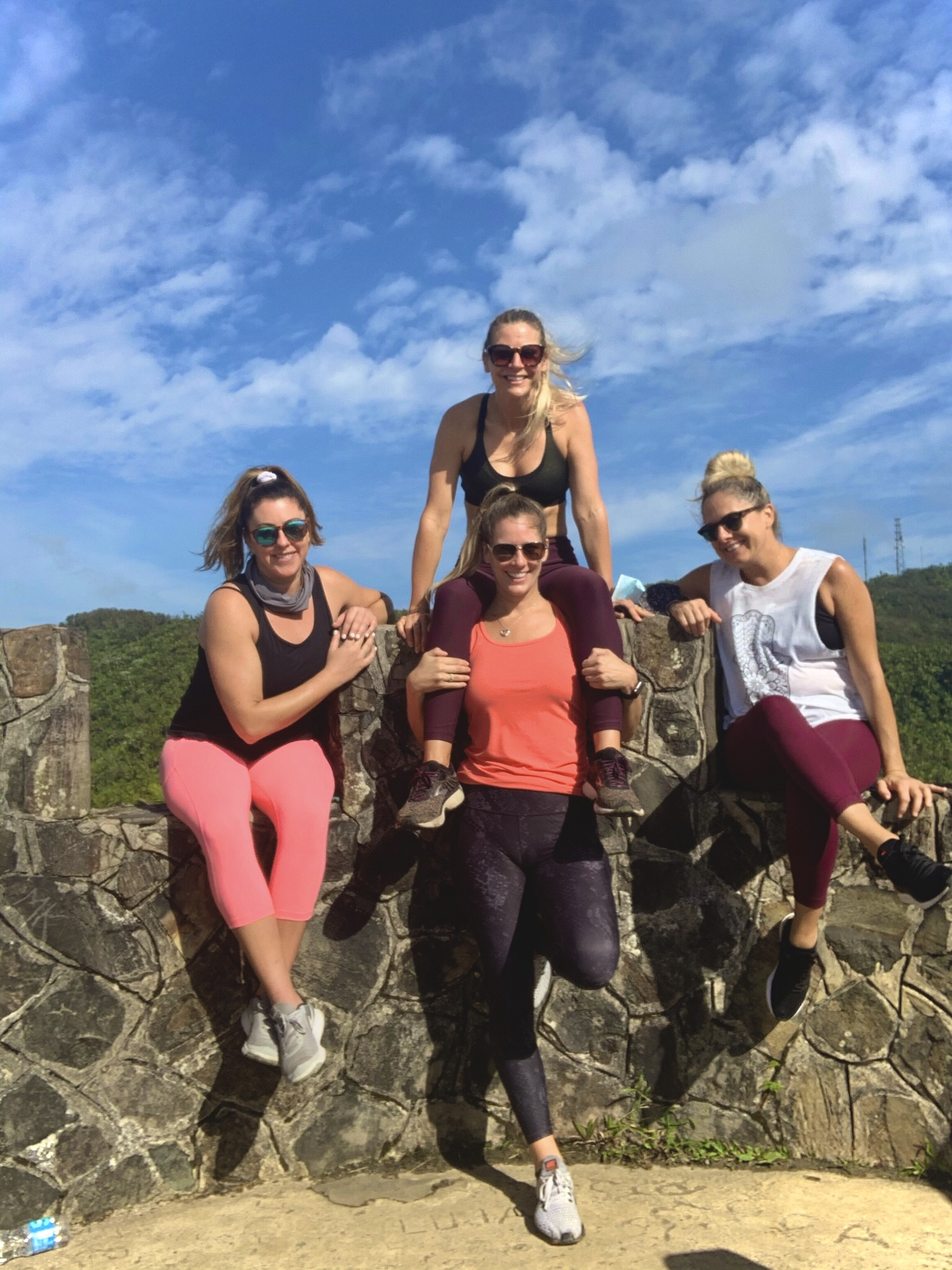 girls' trip to San Juan, Puerto Rico