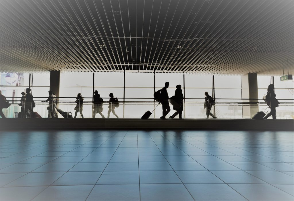 holiday travel, airport