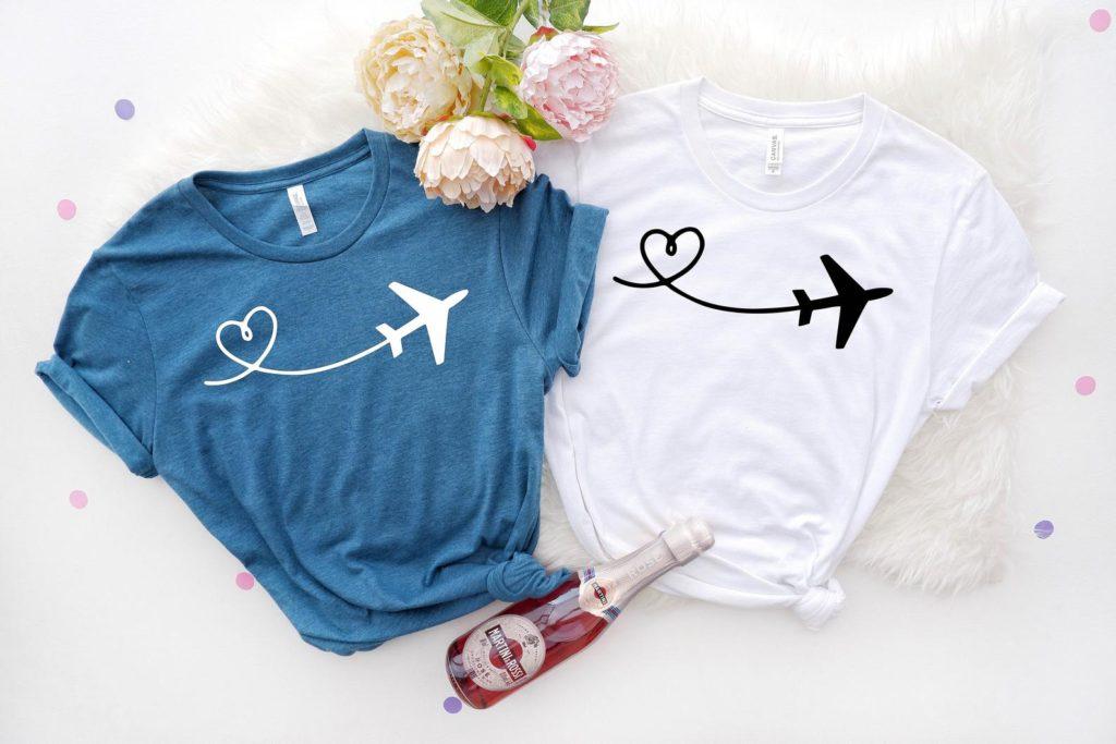 plane tee shirt, flight attendant gift, pilot gift