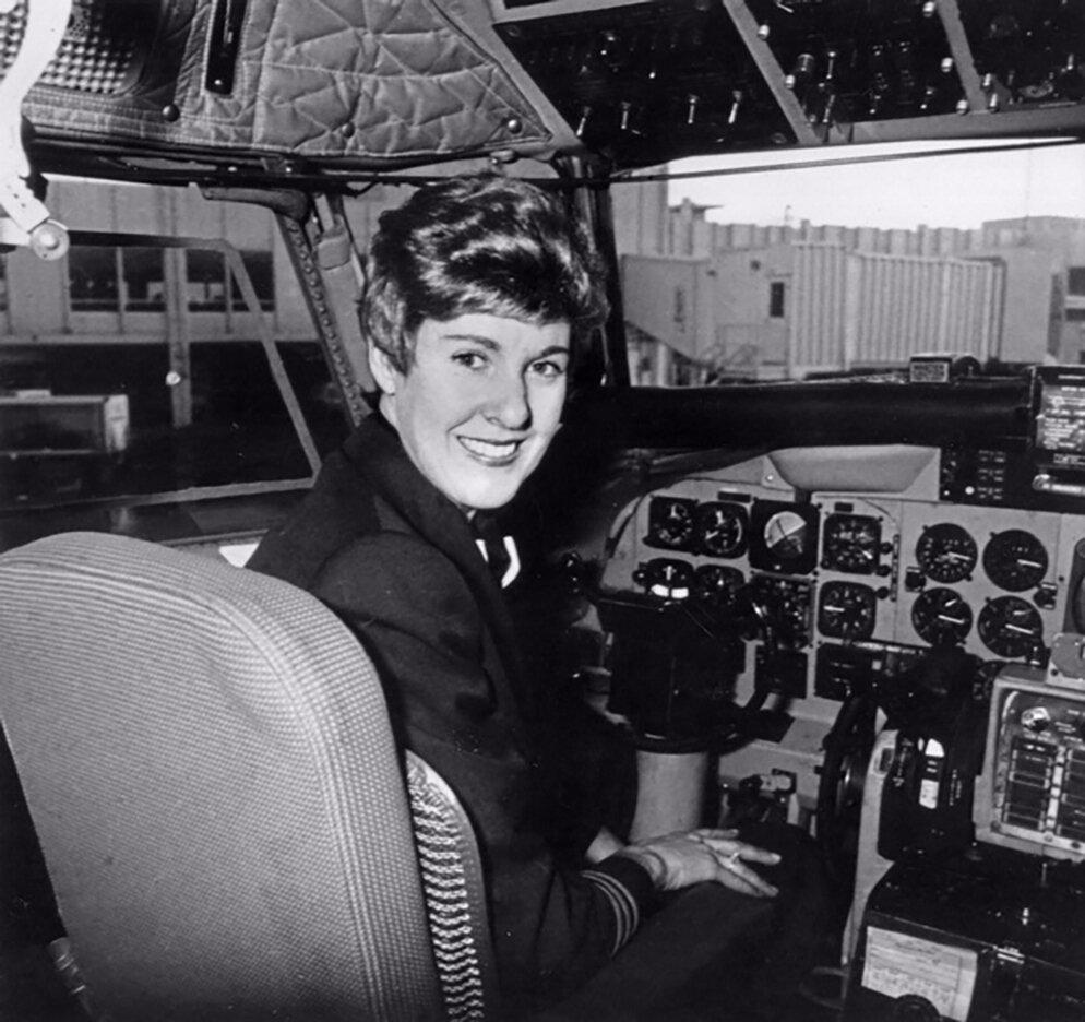 Emily Howell Warner, First female captain, women in aviation, women pilots, women's history month, female pilots, flight, plane, aviation, captain, aircraft, airline pilot