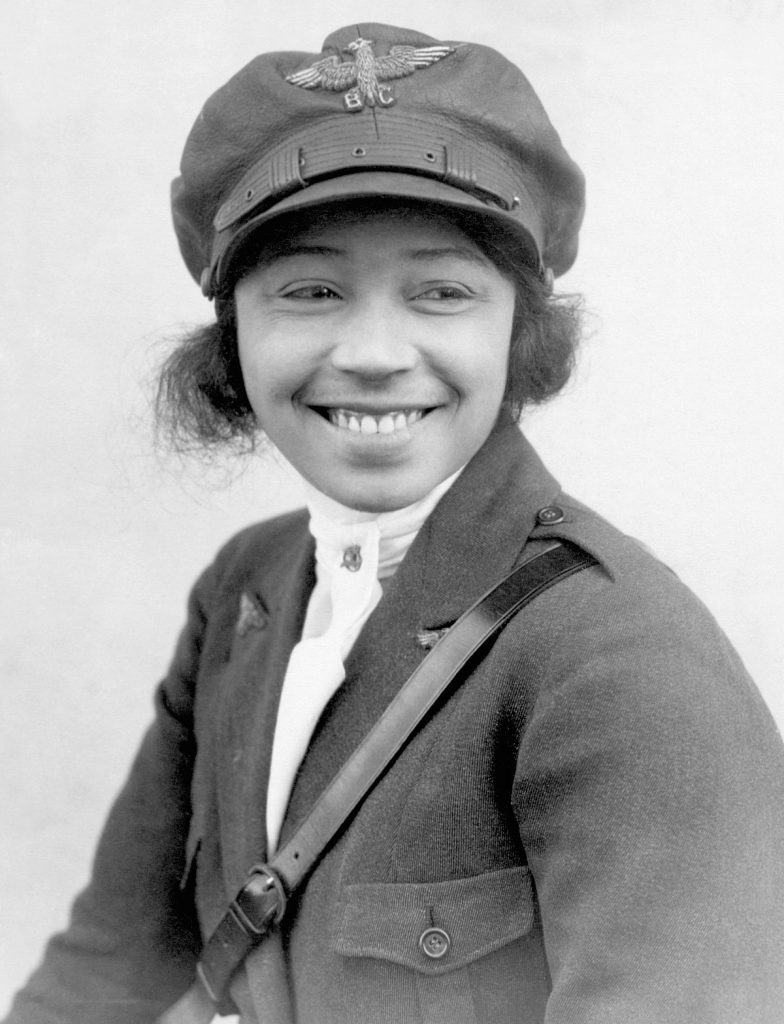 Bessie Coleman, women in aviation, women pilots, female pilots who made history, women's history month,