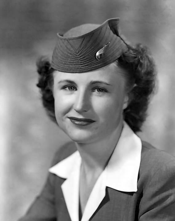 Edith Lauterbach, flight attendants who made history, iconic flight attendants, historic flight attendants, most famous flight attendants, women's history month, women in aviation, stewardess, AFA-CWA, airline, union founder, women in organized labor, women who changed the world