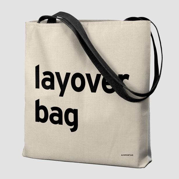 reusable bag, travel green, flight attendant bag, layover, gift for flight attendant, travel tote, eco-friendly, layover bag