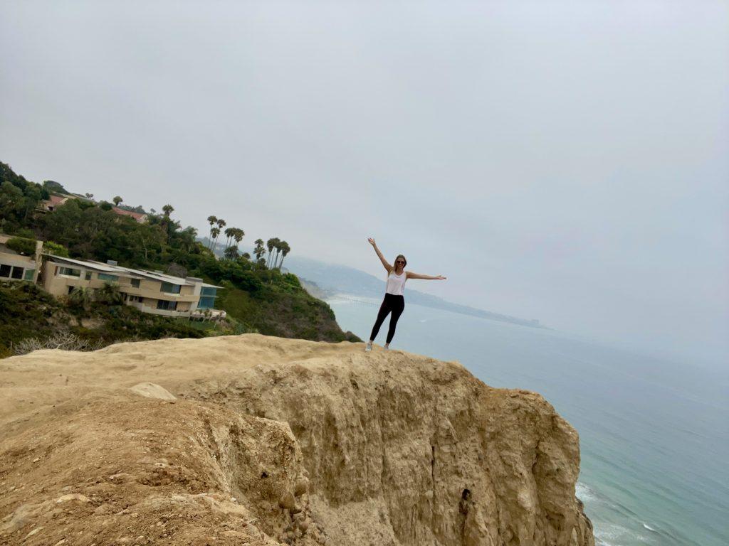 san diego, california travel, hiking san diego, la jolla, black's beach, toni wheel, awheelinthesky