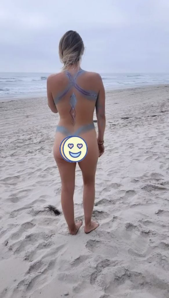 first time going to a nude beach, first time at a nude beach, body confidence, nude beach, body painting, art, san diego, things to do in San Diego, Black's Beach, visiting Black's beach,