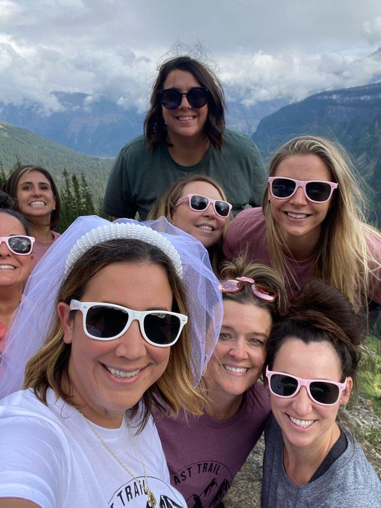 bachelorette weekend in glacier national park, bachelorette weekend in glacier park, bachelorette party in glacier national park, bachelorette party inmontana, bachelorette weekend in montana, bachelorette trip to montana, bachelorette trip to Glacier