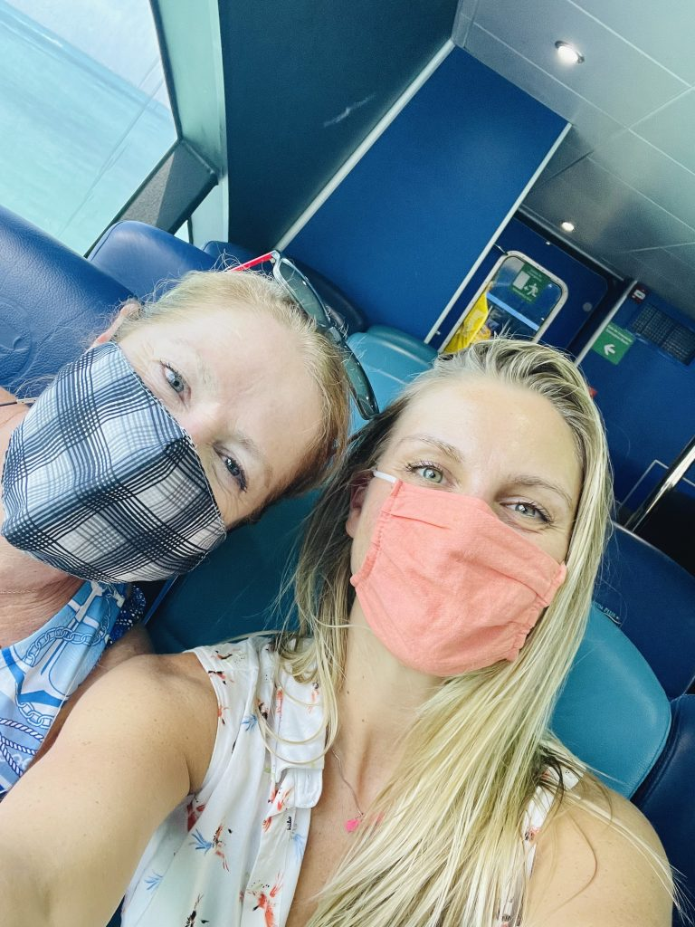 cancun layover, flight attendants, what do flight attendants do on layovers, quick trip to cancun, isla mujeres, ferry, ultramar