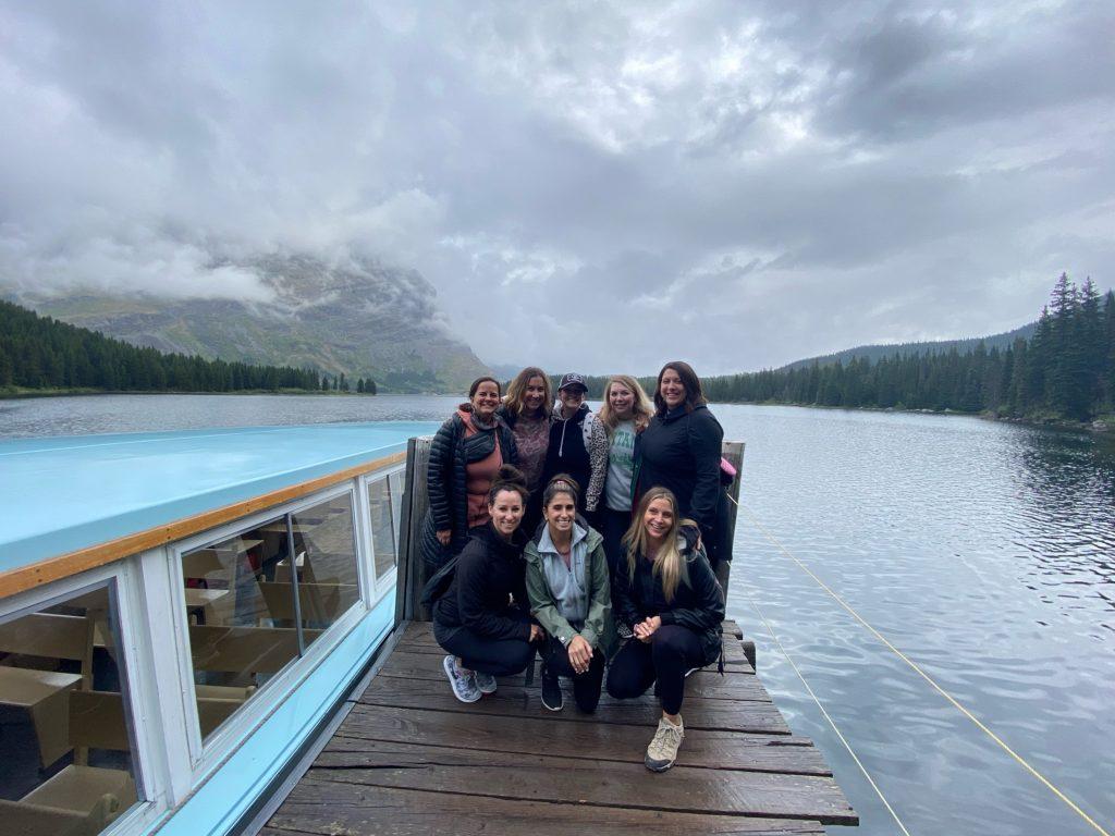 boat tour glacier national park, bachelorette party in glacier national park, bachelorette party in Montana, bachelorette weekend in Montana, bachelorette weekend in glacier national park