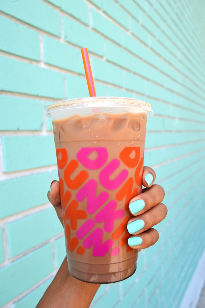 summer in New England, dunkin donuts, iced coffee, coffee, things to do in new england