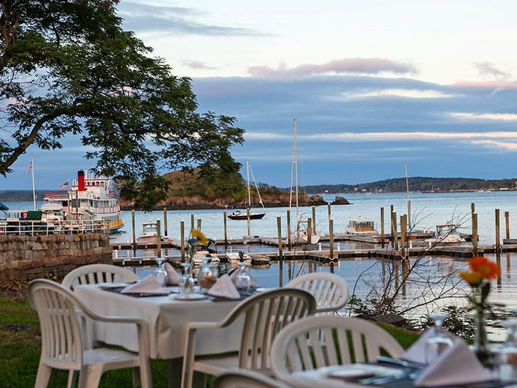 outdoor dining, dining al fresco, where to eat in boston, where to eat in portland, where to eat in maine, where to eat in burlington, new england getaway, summer in new england, best things about summer in new england